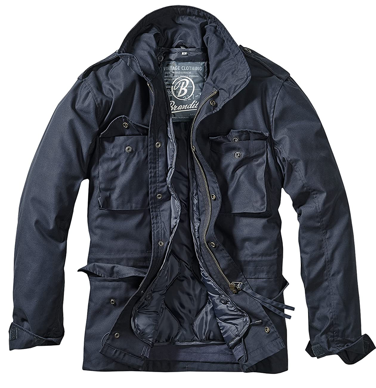 Brandit Men's M-65 Classic Jacket Navy 0