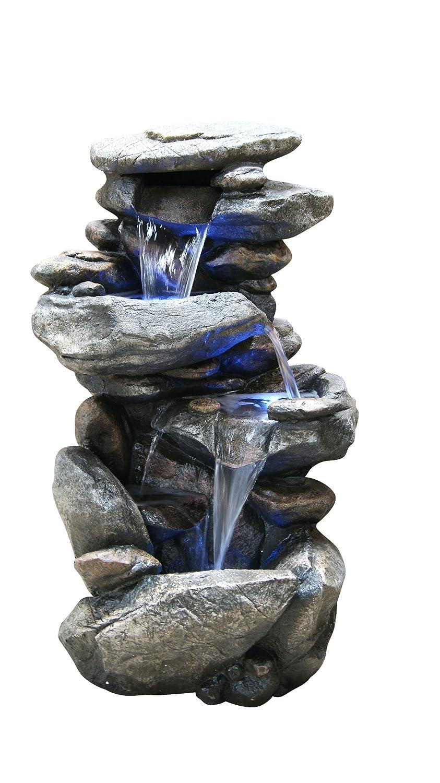 waterfall indoor fountain
