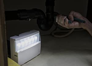 Ideal Security Inc. SK638 Home Emergency Power Failure, White 120 Lumens LED, Up to 16 Hours of Light, No Wiring, (Color: White)