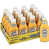 Heinz Yellow Mustard, 12.75 oz. Standing Thunderbird Plastic Bottle (Pack of 16)