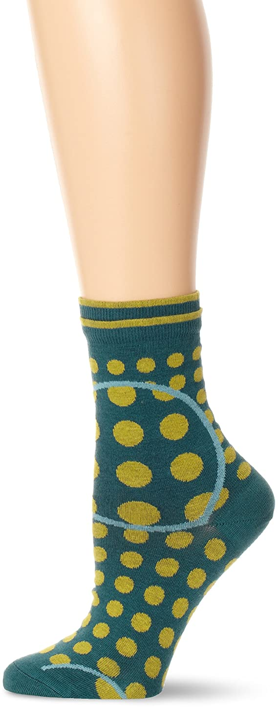 Ozone Women's Magnified Dots Socks