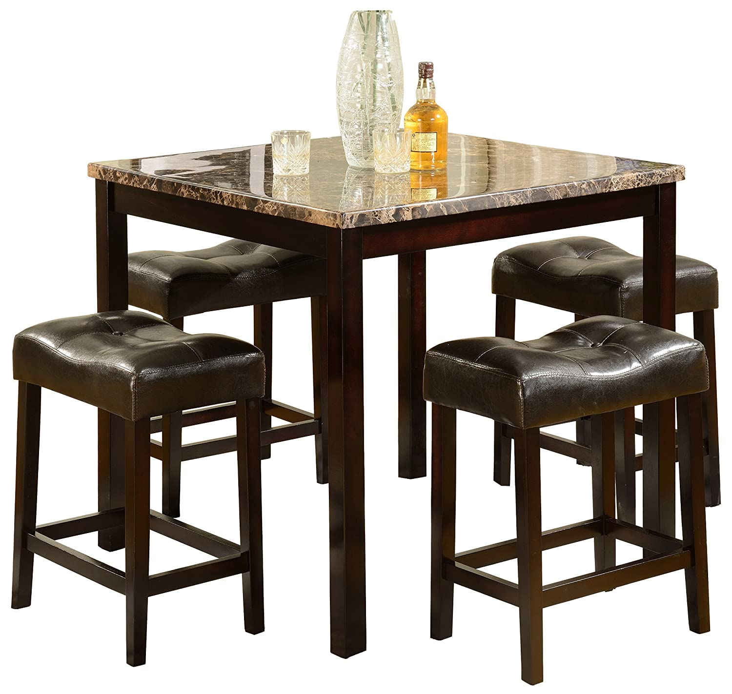 Amazon.com: Marble Top - Dining Room Sets / Dining Room Furniture