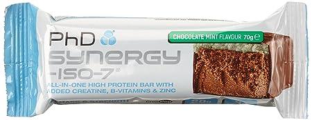 PHD Synergy ISO-7 Bar - Chocolate Mint (12 Riegel), 1er Pack (1 x 840 g)