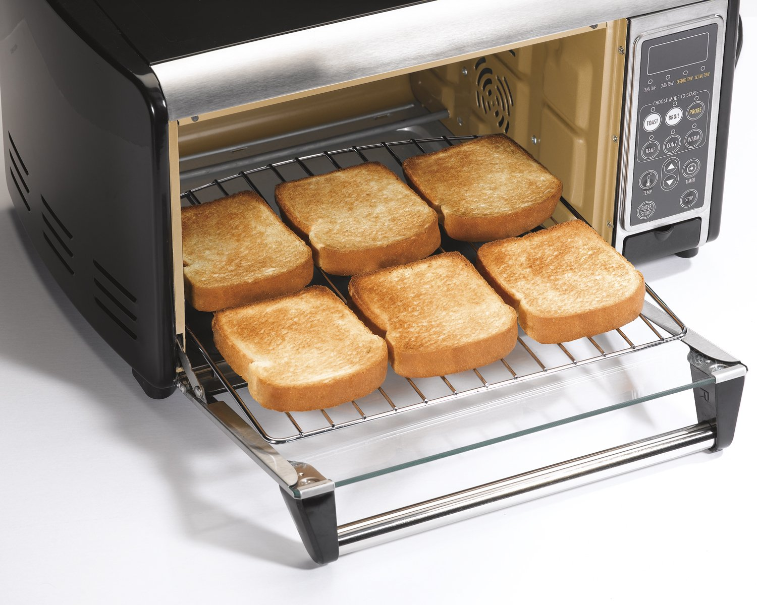 Countertop Convection Oven Chicken : Hamilton Beach 31230 Set Forget Toaster Oven with Convection Cooking