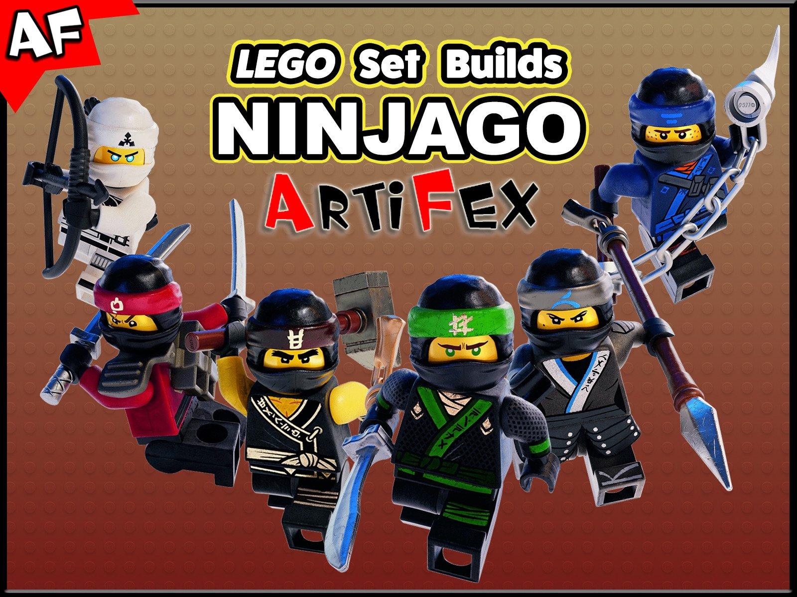 Clip: Lego Set Builds Ninjago - Season 7