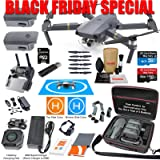 DJI Mavic Pro Drone Quadcopter Elite Combo with 3 Batteries, 4K Professional Camera Gimbal Bundle Kit with 80W Rapid Charger, Charging Hub, Carrying Case and Must Have Accessories (Tamaño: Mavic PRO)