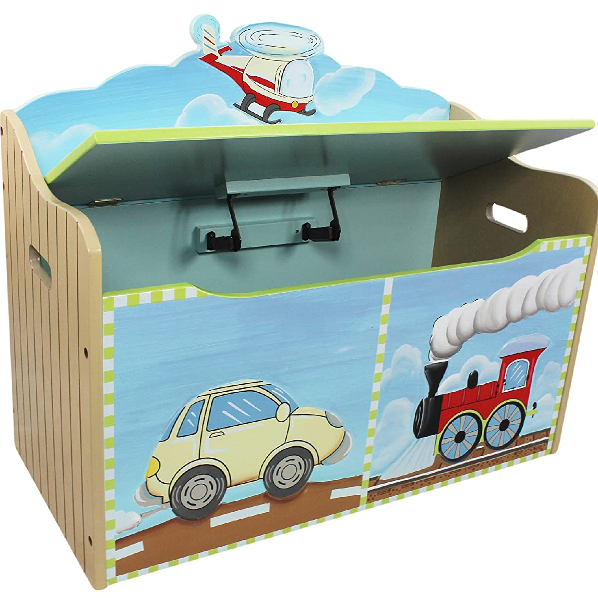 Toy Chest with Safety Hinges Imagination Inspiring Hand Crafted