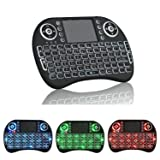 Ouhuang Mini Wireless Remote Keyboard Mouse for Samsung LG Smart TV Android Kodi TV Box