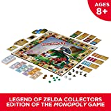 Monopoly B2860 Legend of Zelda Collectors Edition Board Game Ages 8 & Up, Brown/A (Color: Brown/a)