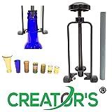 Creator's Bottle Neck Cutter Black DIY Machine Includes Abrasive Stone CBNC-USA (Color: Black)