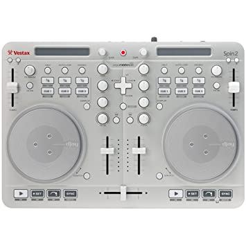 Vestax SPIN2 Contrôleur DJ Blanc
