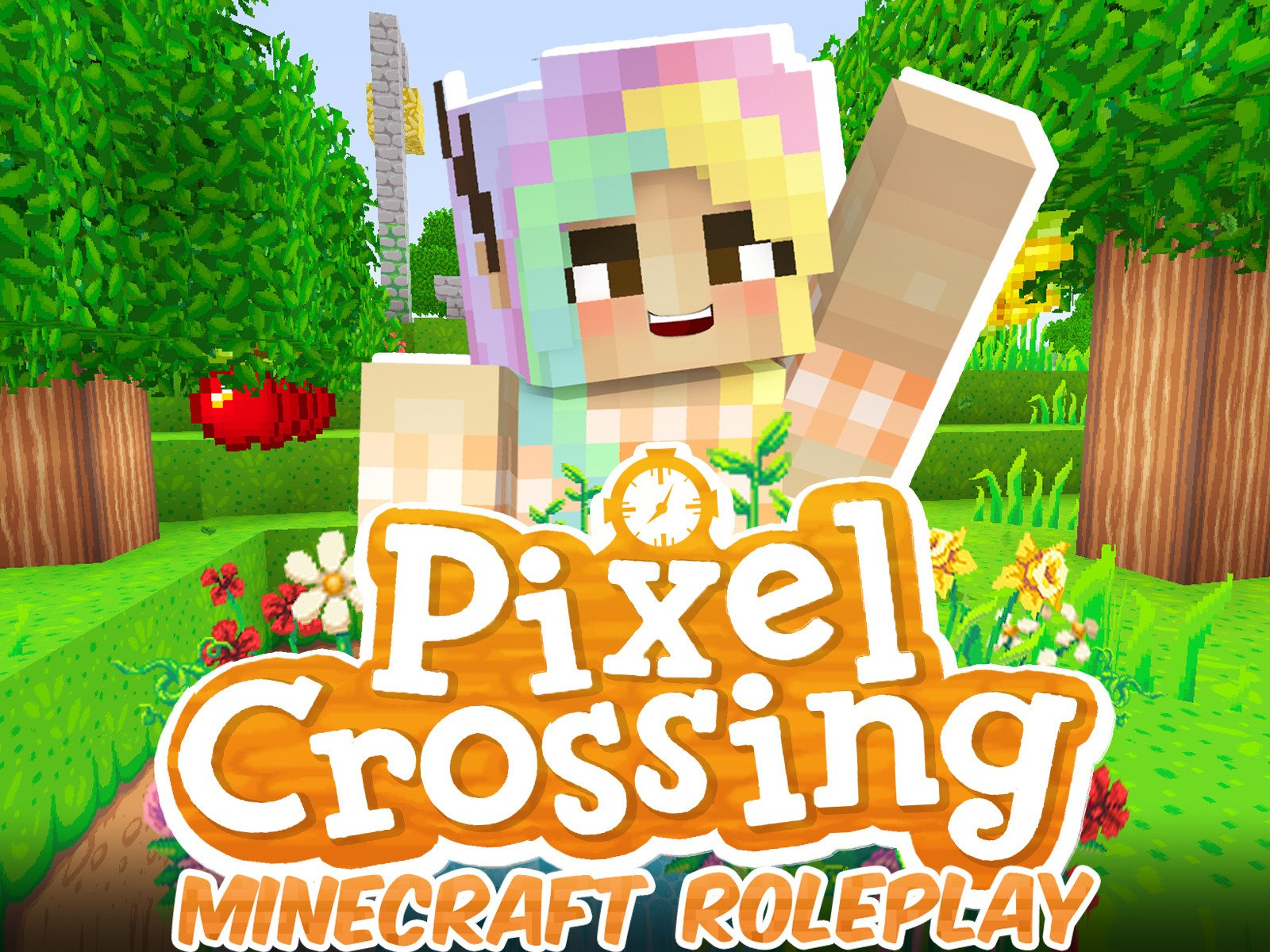 Clip: Pixel Crossing (Minecraft Roleplay) - Season 1