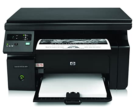 HP Laserjet Pro M1136 Multifunction Monochrome Laser Printer  Black  Laser Printers