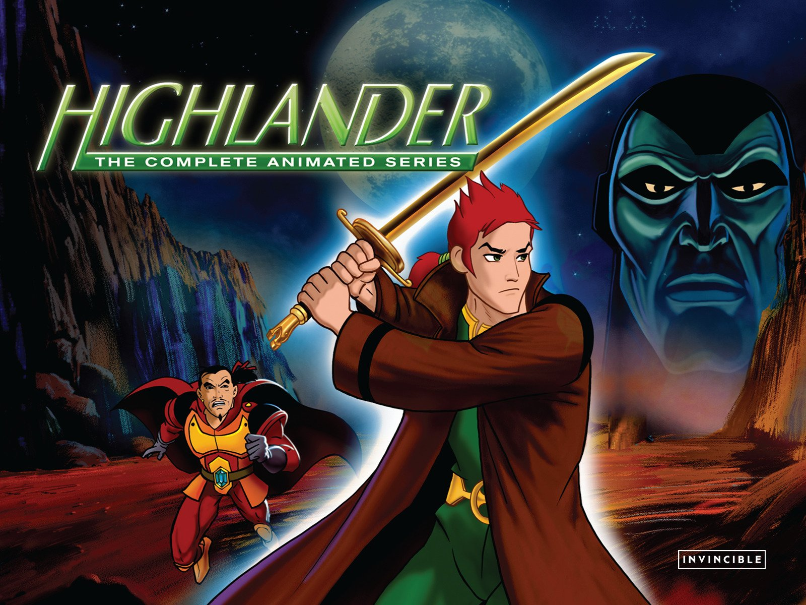 Highlander The Animated Series on Amazon Prime Video UK
