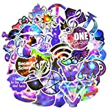 Graffiti Stickers for Car, Laptop, Skateboard, Luggage, Waterproof Vinyl Decals for Motorcycle,Bicycle,Bumper (50Pcs/Pack Mixed Galaxy Style) (Color: 50 Pcs Galaxy Style, Tamaño: 2.5-4.5 inch)