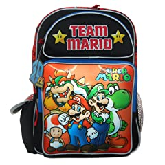 Accessory Innovations Super Mario Team Mario Backpack Bag
