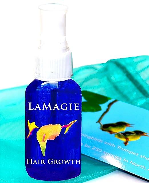 La Magie Organic Fast Hair Growth Serum for Long, Beautiful Hair~1st Organic Hair Serum, Regrow Hair, Now also with Anti Frizz
