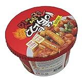 Korean Spicy Cup Rice Cake crazy Tteokbokki 1pack(original flavor)