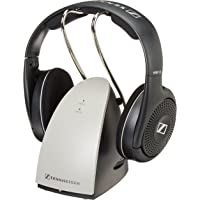 Sennheiser RS-120 On-Ear Wireless Bluetooth Gaming Headphones with Charging Dock