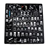 YOKOYAMA 72 pcs Sewing Machine Presser Feet Set for Brother, Babylock, Singer, Janome, Elna, Toyota, New Home, Simplicity, Necchi, Kenmore, and White Low Shank Sewing Machines (Tamaño: 72PCS Set)