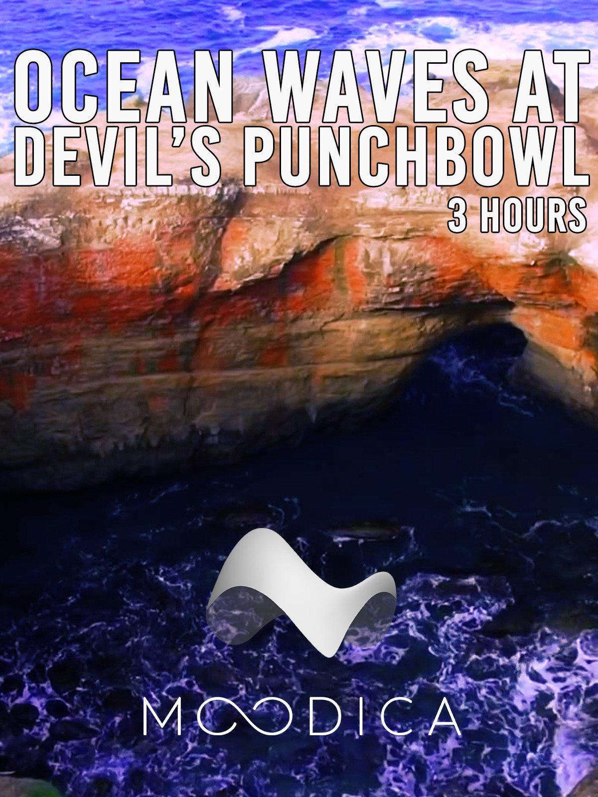 3 Hours: Ocean Waves At Devil's Punchbowl