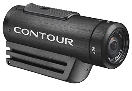 ContourROAM2 kit main libre HD Action Appareil photo - noir (5MP, Still Photo Sensor)