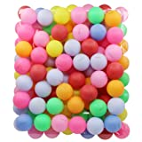 TADICK Beer Ping Pong Balls Plastic Multiple Color Table Tennis Ball (Pack of 100)