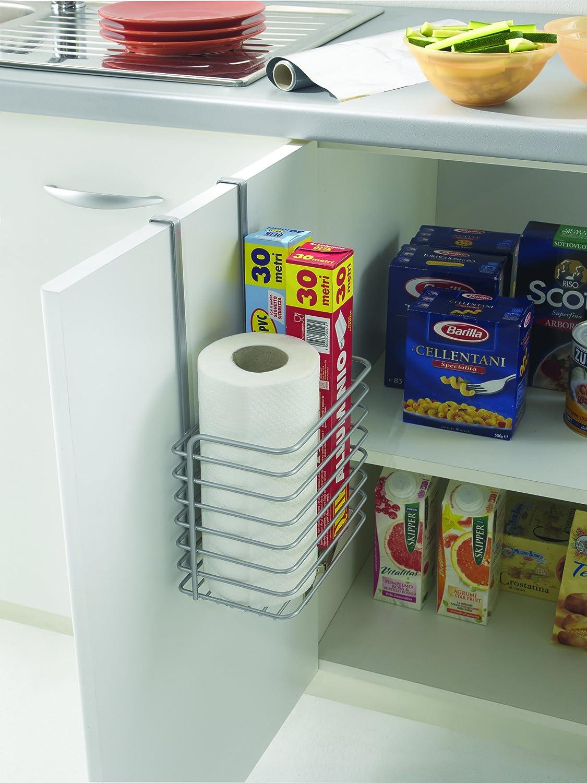 metaltex galileo tall kitchen over door hanging storage basket rack. Black Bedroom Furniture Sets. Home Design Ideas