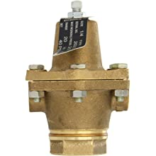 "Cash Valve 20251-0040 Bronze Pressure Regulator, 20 - 60 PSI Pressure Range, 1/4"" NPT Female"