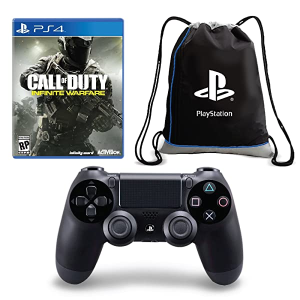 Call of Duty: Infinite Warfare + Dualshock 4 Controller + Cinch Sack Bundle - PlayStation 4