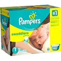 Pampers Swaddlers Size 1 148 Count Diapers