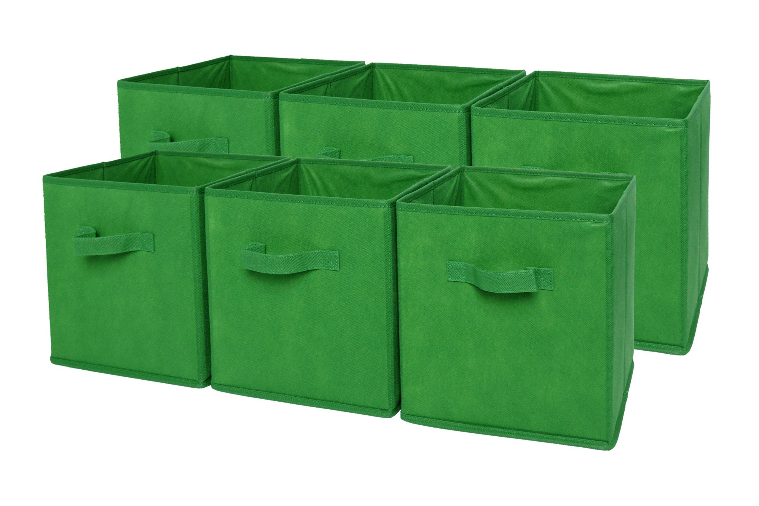 Sodynee Foldable Cloth Storage Cube Basket Bins Organizer