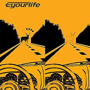 Eyourlife 2PCS 18W Spot LED Work Light Bar Driving Fog Light Cree Flush Mount LED Lights Light Pods for SUV Boat Truck Tacoma Jeep Bumper ATV UTV