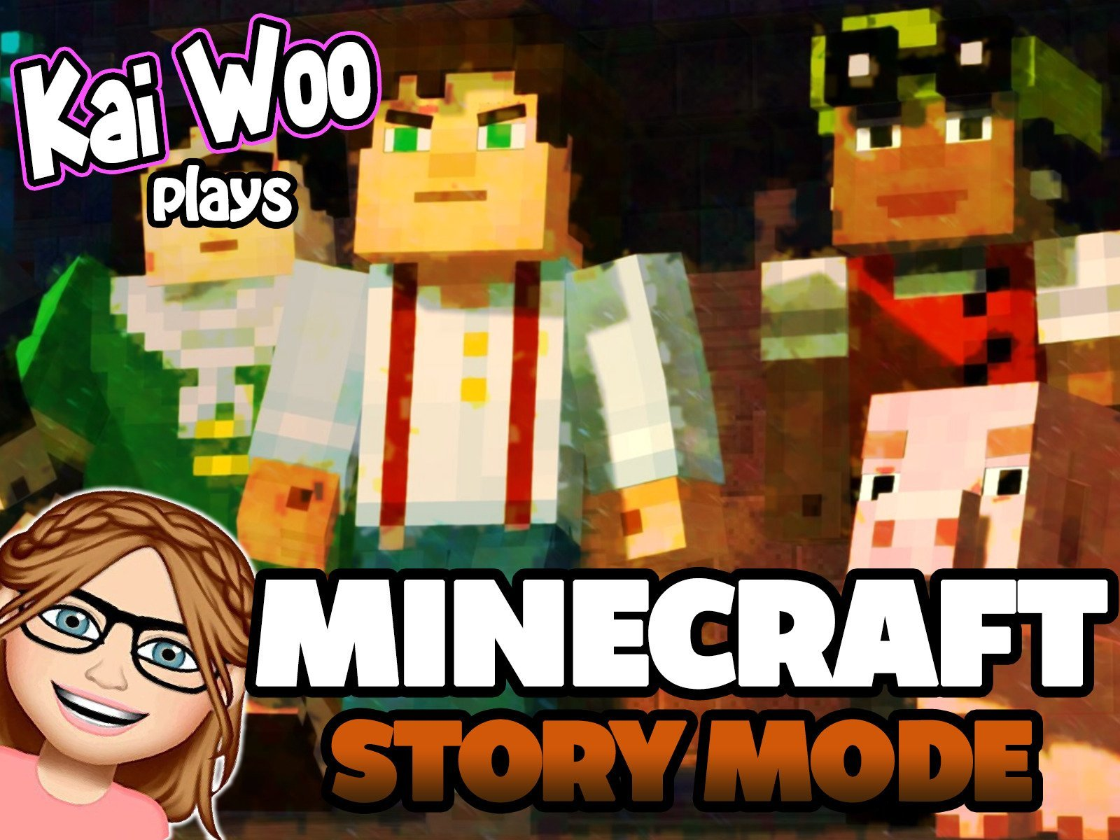 Kai Woo Plays Minecraft Story Mode - Season 1