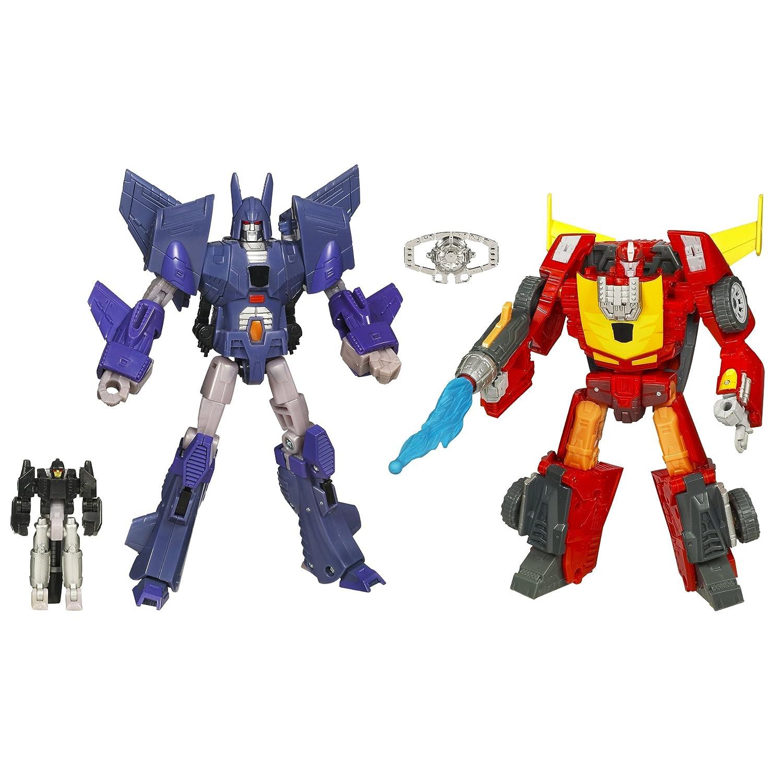 Hasbro - Transformers - Reveal the Shield - Level 3 - Battle In Space 2 pack - Rodimus und Cyclonus - Incl. Comic - Figuren ca. 16cm. - OVP