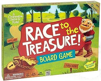 Race for Cooperative trésor Jeu de société