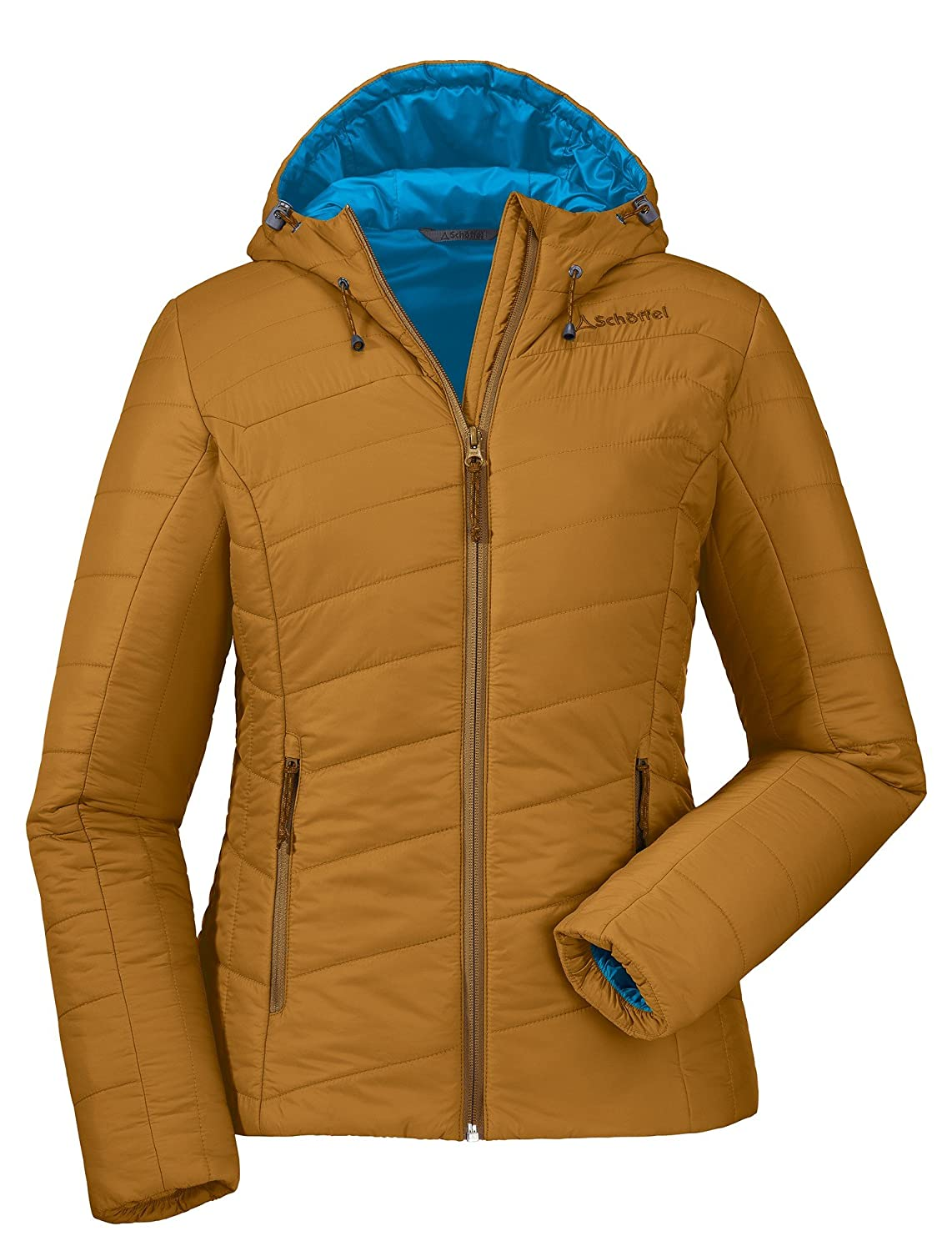 SCHÖFFEL Damen Daune Thermojac Moa, Golden Brown, 36, 20 11156 22396 4060 günstig