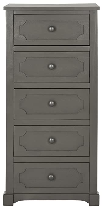 Safavieh Renaud-Cassettiera, legno, colore: grigio