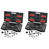 GearWrench 3887 Tap and Die 75 Piece Set - Combination SAE/Metric (2 UNITS) (Tamaño: 2 UNITS)