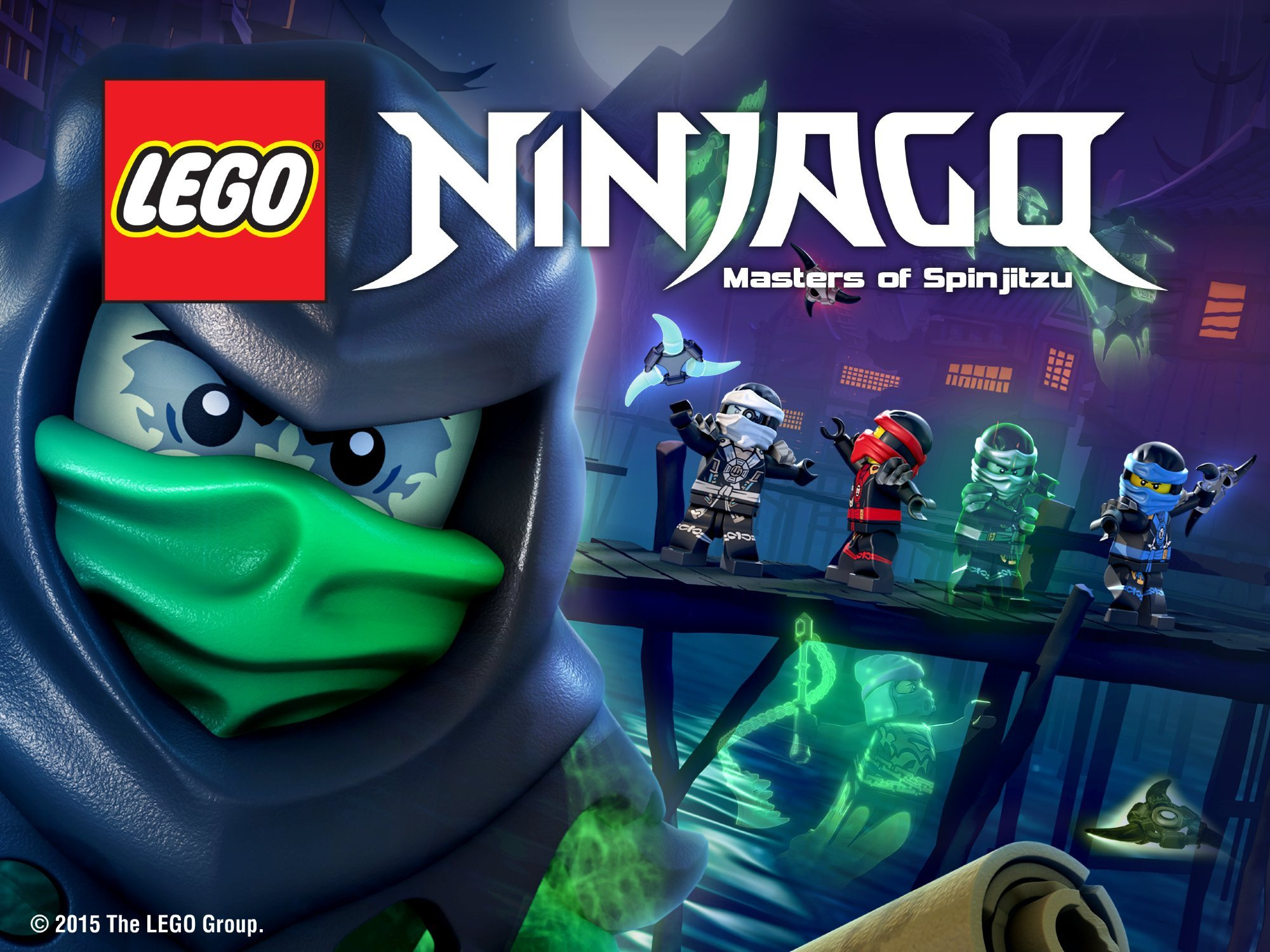 LEGO Ninjago: Masters of Spinjitzu on Amazon Prime Video UK