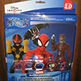 Disney Infinity 2.0 Marvel Spider-Man Power Disc Album Bundle