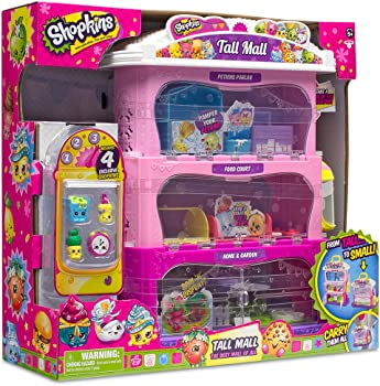 Moose Shopkins Tall Mall Playset