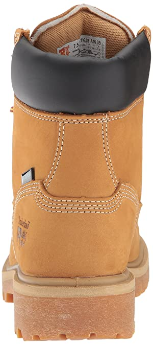 Timberland PRO Women's Direct Attach 6 Steel Toe Waterproof Insulated Industrial & Construction Shoe Wheat Nubuck Leather 7 M US (Color: Wheat Nubuck Leather, Tamaño: 7 M US)