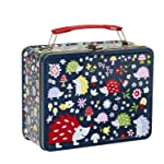 Ore Originals Retro Metal Lunch Box, Hedgehog