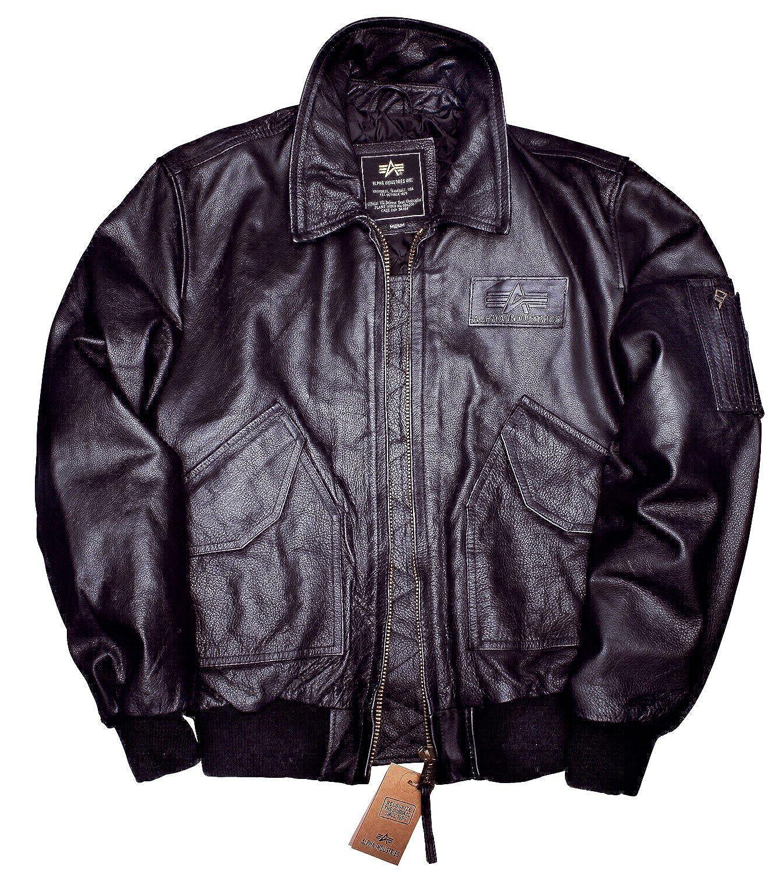 Alpha Industries CWU Leather Herren Lederjacke 30108 günstig bestellen