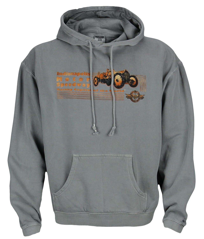 Indianapolis Motor Speedway Men's Hooded Sweatshirt, Grey kettler indianapolis air