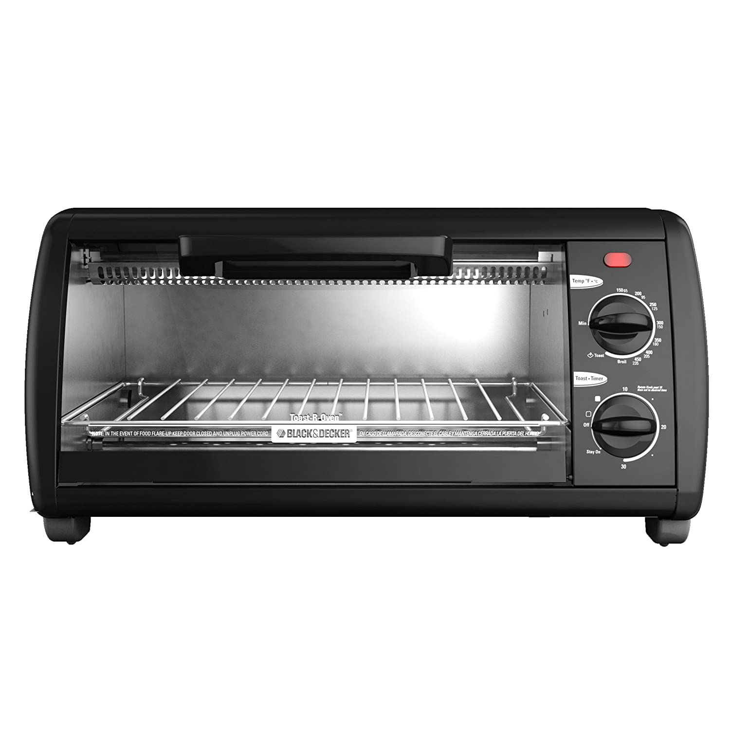 Black & Decker 4-Slice Electric Toaster Oven Baking ...