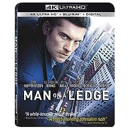 Man On A Ledge [4K Ultra HD + Blu-ray]