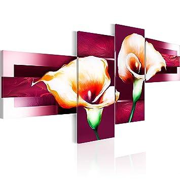 impression sur toile 200x93 200x93 cm 4 parties image sur sur toile images photo. Black Bedroom Furniture Sets. Home Design Ideas