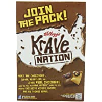 4-Pack Kellogg's Krave Double Chocolate Cereal